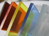 Hoja transparente del acrílico de la tarjeta de la alta calidad PMMA