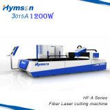máquina de estaca do laser 1200W para o metal de alta velocidade