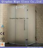 Porta do chuveiro do vidro Tempered com Ce, ISO9001, CCC