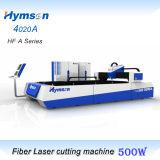 Corte de máquina del laser de la fibra del CNC para el acero del metal