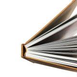 Livre fait sur commande d'impression offset de couverture dure colorée
