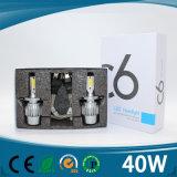 2017最新の普及したH1/H3/H4/H7/H8/H9/H10/H11/H13/H16/9004/9005/9006/9007/9012 4500lmの高い発電車LEDのヘッドライト