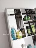 Классицистический шкаф ванной комнаты нержавеющей стали с полируя зеркалом