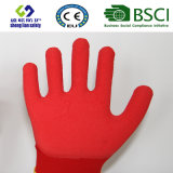 Le caoutchouc spongieux a enduit les gants de jardinage de sûreté de travail