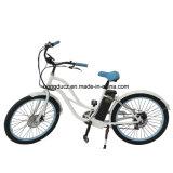 Fetter Gummireifen-Kreuzer-elektrisches Fahrrad online vom elektrischen Fahrrad-Hersteller