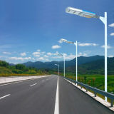 Stand Alone IP65 60 vatios LED Street Light con batería reemplazable Luz solar