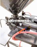 Pneumatische het Vullen van semi-Aut van de Fles van het Roestvrij staal Kleine Machine