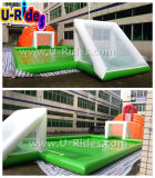 Загерметизированный воздухом раздувной суд волейбола с играть воды