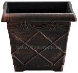 正方形プランター植木鉢(KD432S-KD433S)