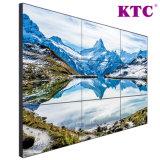 55 parede video da polegada 3.5mm LG LCD com moldura estreita
