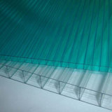 Folha 10-Year do policarbonato da certificação do ISO da garantia da alta qualidade com proteção UV