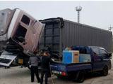 Elevación hidráulica del producto de limpieza de discos del carbón de Hho para la colada de coche