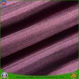 Tissu enduit imperméable à l'eau de rideau en arrêt total de polyester de tissu tissé par textile pour le rideau en guichet
