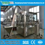 Linha de produção cheia do suco para os frascos de vidro