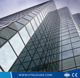 건물을%s 높은 안전한 강화 유리