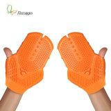 Относящи к окружающей среде содружественные перчатки mm-29 массажа силикона