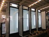 Getränkebildschirmanzeige-Kühlvorrichtung-Handelskühlraum-aufrechter Schaukasten des Supermarkt-LG-380