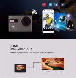 A câmera 4k WiFi da ação vai PRO câmera dos esportes do estilo impermeável