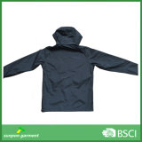Revestimento encapuçado unisex amigável do Windbreaker de Eco