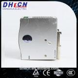 Hdr-120, alimentazione elettrica di commutazione della guida di BACCANO 120W 12VDC, 10A, 24VDC, 5A, 48VDC, 2.5A