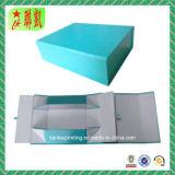 Farbenreicher Kunstdruckpapier steifer Foldble verpackenkasten