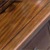Conjunto moderno de cômoda de madeira estilo americano para uso em quarto (AS831)