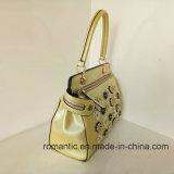 Sacchetto di mano di cuoio di stile della signora PU delle borse delle donne d'avanguardia di modo (LY060236)