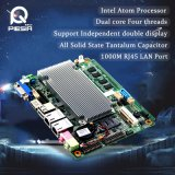 Motherboard Itx, Motherboard 1080P Playing/3G/WiFi/24bit Lvds/6*COM RS232/Lpt/VGA van de Macht van Fanless Lage Mini van het Atoom N2800