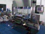 Type linéaire mis en bouteille par animal familier machine à étiquettes de machine de remplissage d'huile de table
