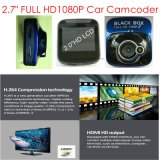 "2.0 privados baratos "" coche DVR con la cámara de HD1080p, 5.0mega Cmos, Builit-en el G-Sensor, con la visión nocturna, video DVR-2001 de Digitaces"