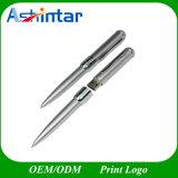Azionamento dell'istantaneo del USB del metallo del bastone di memoria del USB di figura della penna
