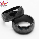 Htr-010b Customized Fashion 10mm Black Section Haematite Jewellery