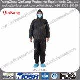 PP/PP+PE/SMS/Microporous non tessuto 2pieces medico della tuta (rivestimento & pantaloni)