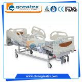 Reizbares manuelles Bett des Krankenhaus-2 mit Handläufen der Aluminiumlegierung-6-Crank (GT-BM5168)