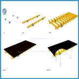 지면 건축재료를 위한 고품질 합판 테이블 Formwork 단위