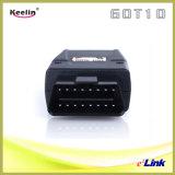 Rastreamento de veículos GPS GSM com controle remoto sem fio (GOT10)