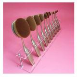 Présentoir cosmétique d'organisateur de renivellement acrylique pour la brosse à dents 10PCS