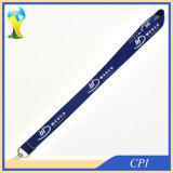 Lanière bleu-foncé faite sur commande de polyester pour des personnels