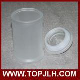 Esconder el crisol del sello de la sublimación del tarro del almacenaje del vidrio helado