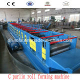15kw Main Power Quick Changes C Purlin Roll Forming Machine