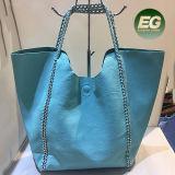 PU-Handtaschetote-Schulter-Einkaufen-Fonds Sh120 Form neuer der Entwurfs-Beutel-gesetzten Frauen