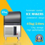 fabricante de hielo 40kg con el diseño del acero inoxidable grande para el servicio de alimentación/la barra