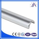 Profil en aluminium anodisé de bonne qualité d'actionnaires d'extrusion/profil d'Aluminiun