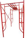 携帯用移動式働きプラットホームH Uフレームの足場システム