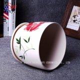 3つの装飾的なプラント鍋、陶磁器の庭の植木鉢の創造的な木靴セット