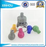 Gicleur de lavage de cône de matière plastique de pipe de véhicule en plastique solide de la bride pp