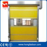 Porte à grande vitesse industrielle d'obturateur de roulement de PVC (HF-68)