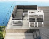 Insieme stabilito del sofà del lato di mare del nuovo di disegno del patio sofà di alluminio esterno della mobilia