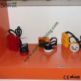 Lampe principale de mineurs neufs de 3W DEL avec la batterie au lithium 3000mAh
