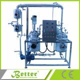 Máquina solvente da extração do chá do aço inoxidável